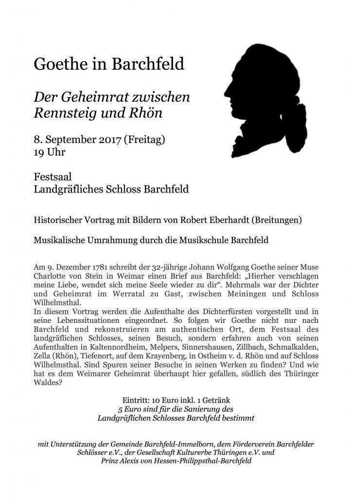 plakat barchfeld goethe